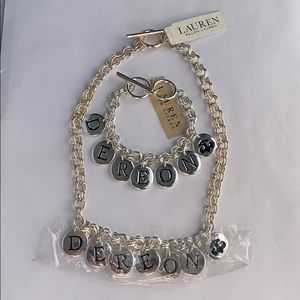 RALPH LAUREN DEREON BRACELET & NECKLACE SET!!
